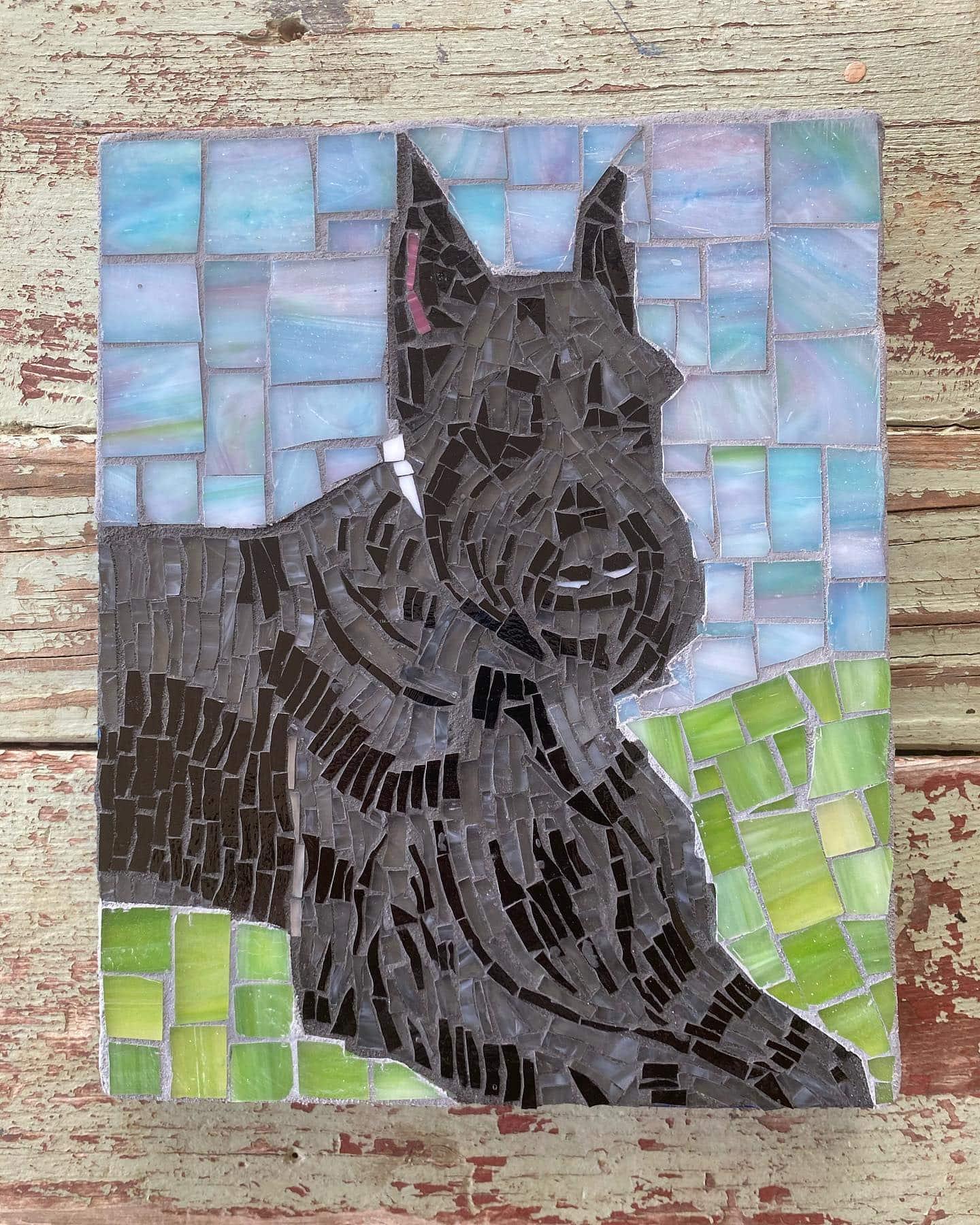 Texas Pet Co Pet Mosaic 8x10 4
